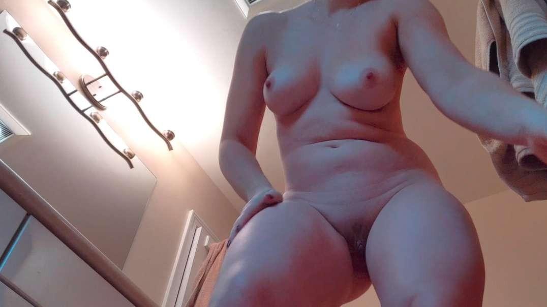 Brunette, hidden cam