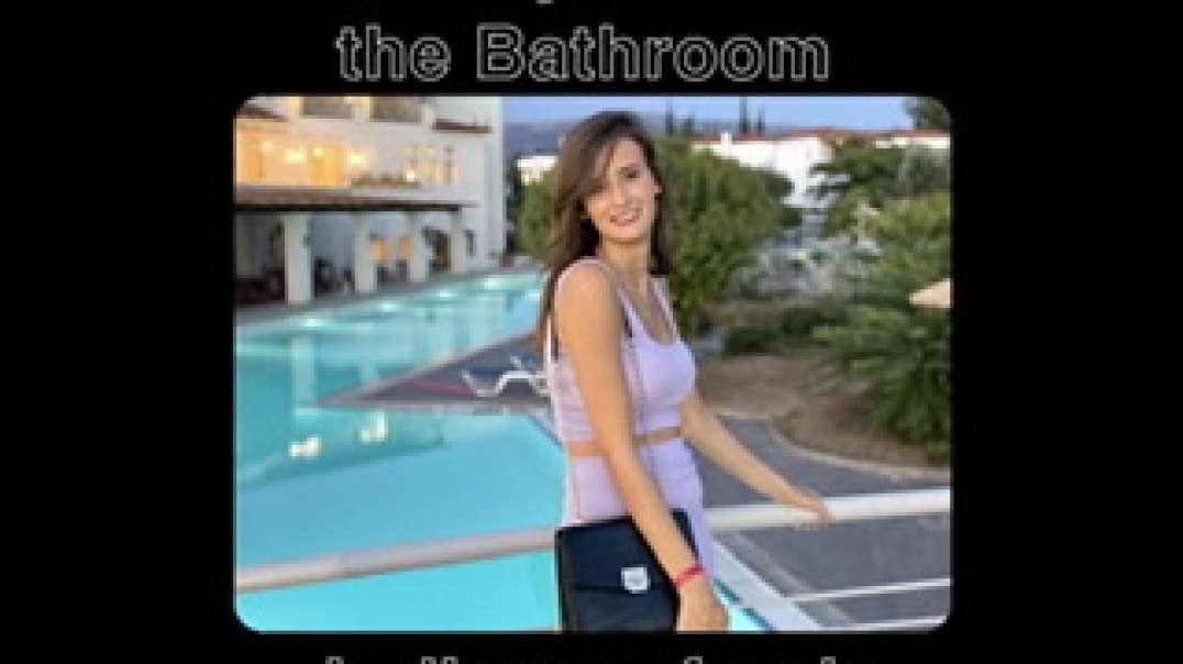 Part 1 - Skinny teen in the bathroom