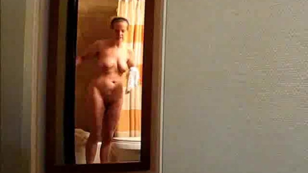 Nice Old Ass In Bathroom