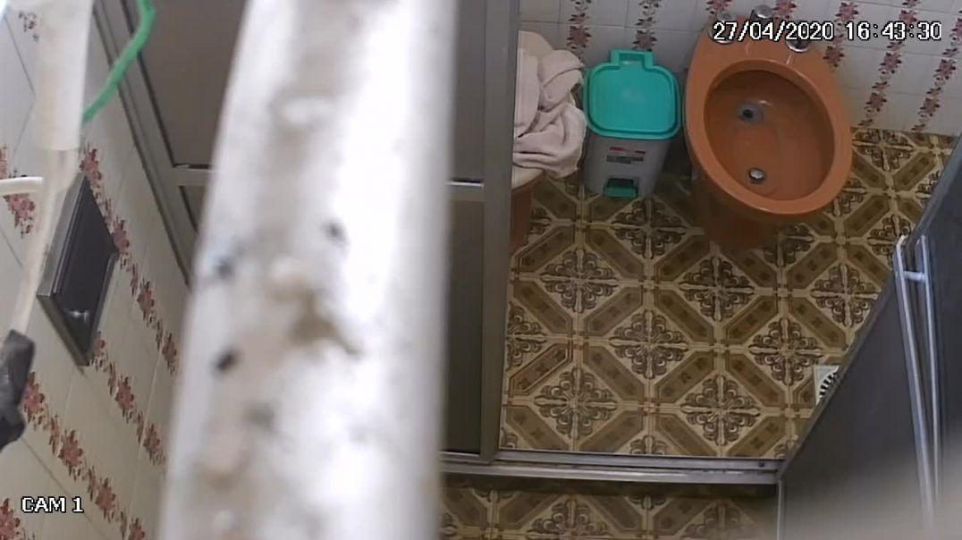Colombia Girl Bathroom