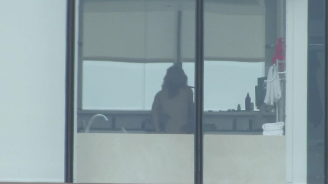 Hotel Window 2 - MILF with Tattoos