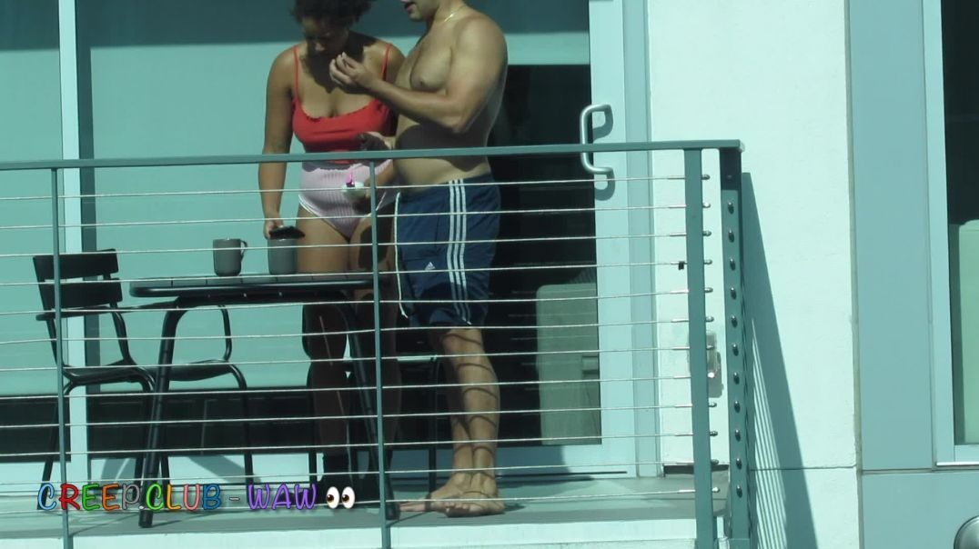 Panties on the Balcony