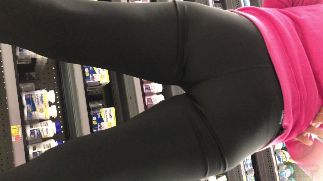 Petite Milf Squeezing Ass