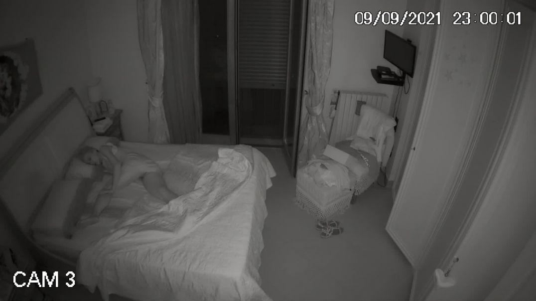 MILF Sleeps Pantyless