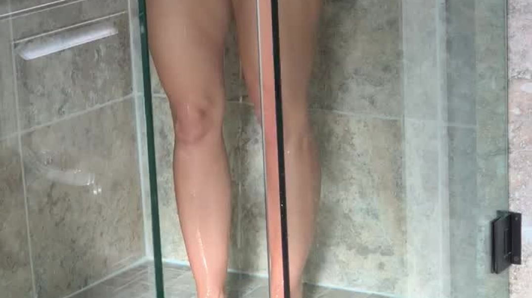 Another Quick Capture of the Wife in Shower